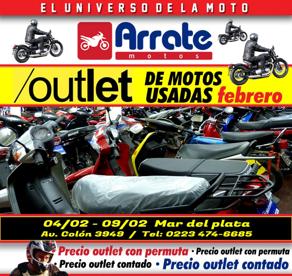 8f80ca7ea99 Se vienen los OUTLET MOTOS USADAS en Arrate Motos